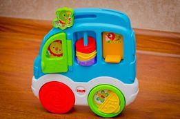 Развивающая игрушка Fisher-Price Animal Friends Discovery Car