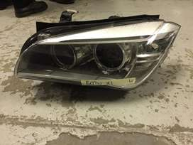 For sell bmw x1 headlight very clean
