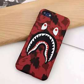 Bape Phone Cover Red (New)