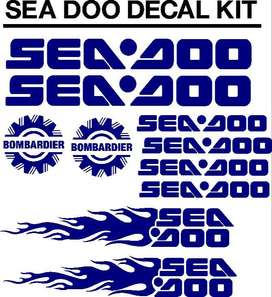 Seadoo jetski decals graphics