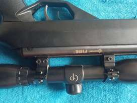 Pellets gun rifle