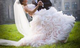 suknia ślubna niepowtarzalna !!!