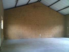 Workshop, industrial warehouse, containers or storage areas