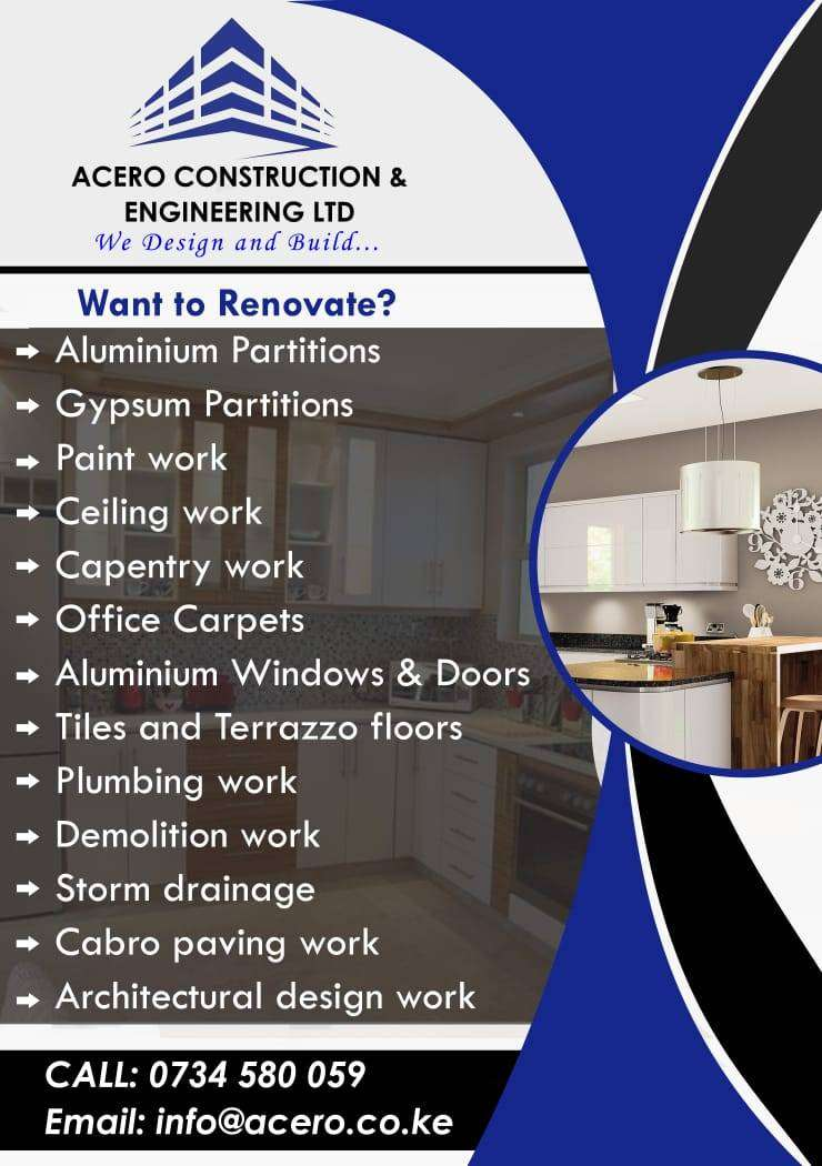 Building and construction services 0