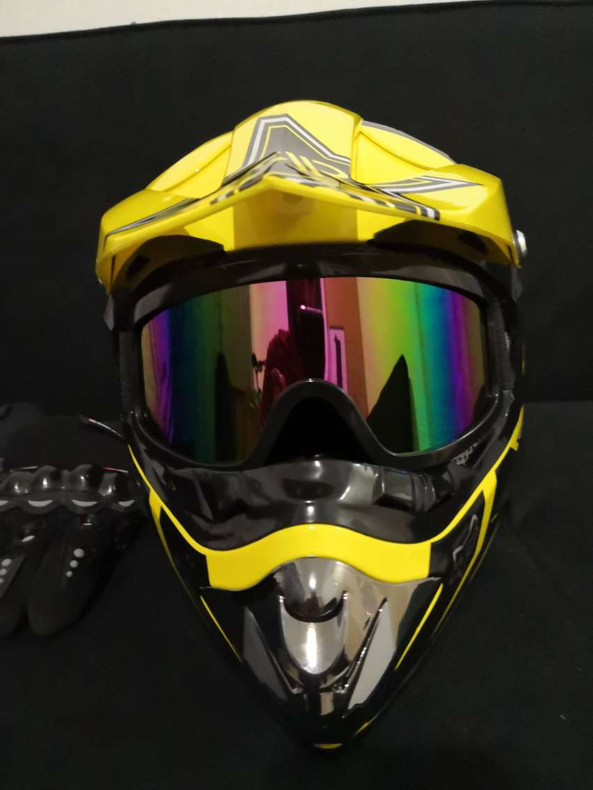 Off Road Rockstar /Fox Helmet kit 0