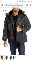 Продам мужскую зимнюю куртку (парку)