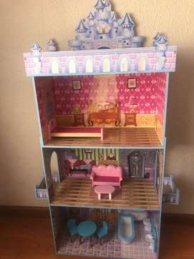 Wooden Barbie Doll house