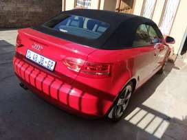 Audi A3 convertible 2009 model in a very good condition