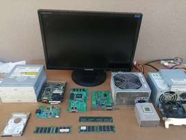 Monitor and Computer hardware