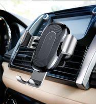 автомобильный держатель с беспроводным зарядным устройством Baseus