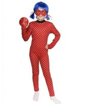Детский карнавальный костюм Леди Баг + парик. Герои в масках