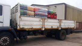 8 ton truck wanted for cooldrink transort