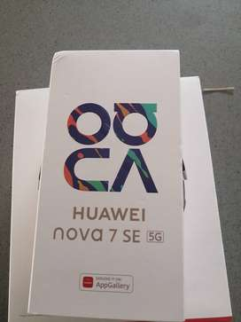 Huawei Nova 7 SE 5G. New sealed in box