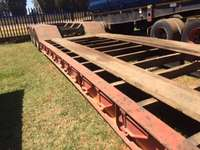 Image of Used Tri Axle 40 Ton Clipneck Lowbed Trailer for sale