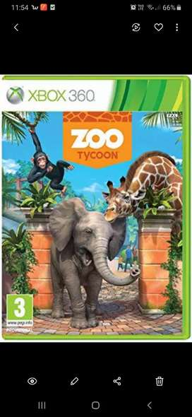 LOOKING FOR (Zoo Tycoon) Xbox 360