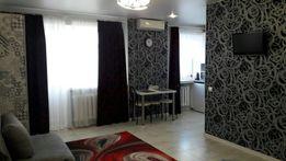 Квартира-студия, ЦЕНТР, Люкс, чистая, уютная с кондиционером