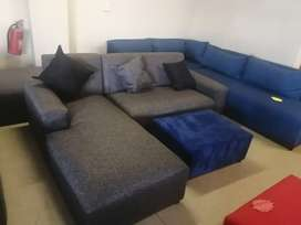 Brand new L shape couches for sale right at the factory for R2499.
