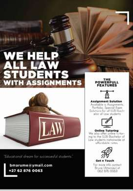 assignment asistance for bachelor of law (LLB)