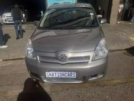 Toyota verso 1.6 2008 model manual for SELL
