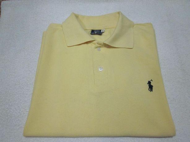 Ralph Lauren Polo T-Shirt męski roz. S kolor żółty Warszawa - image 1