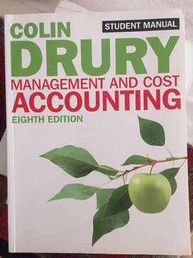 Mamagement and cost accounting
