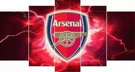 Arsenal mounted canvas