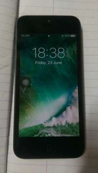Image of iPhone 5 for quick sale.