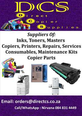 Repairs / Sales / Service to Printers and Copiers
