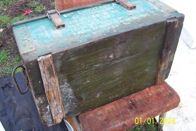 prl ,skrzynia wojskowa ,amunicyjna,vintage Kamień Pomorski - image 8