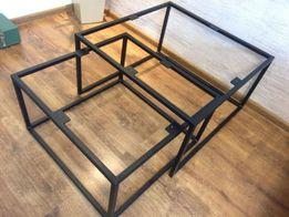 Metalowy stelaż, metalowy stolik,stolik kawowy loft industrialny meble