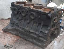 Toyota Corolla 4A block with pistons