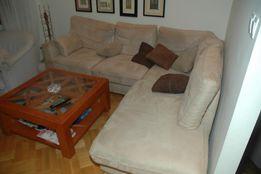 sofa narożna, duży narożnik, dwuczęściowa, powłoki ściągalne