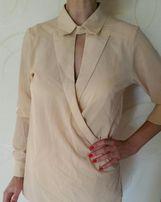 Продам блузу бежевую новую