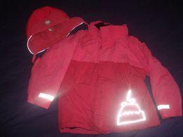 Деми куртка р 116 + подарок