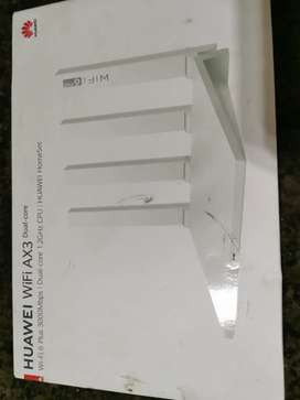 Huawei router and Vodafone router never been used