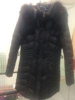 Пальто пуховик на девочку