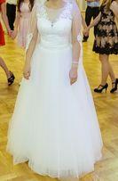 suknia ślubna roz. 38 + welon