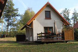 Domki na Kaszubach, domek Kaszuby nad jeziorem, kąpielisko, pomost.