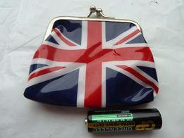 в коллекцию сувенир кошелек сумочка для мелочи британский флаг маленьк