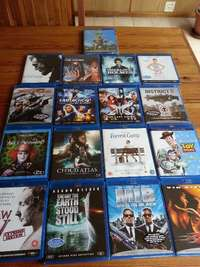 Image of Blu Ray Movies R50 Each about 40 Titles (See Pics) min2