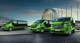 Promocja! Wypożyczalnia busów Wynajem busa van 9 - osobowy Opel Vivaro
