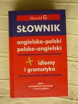 Słownik angielsko-polski, polsko-angielski idiomy i gramatyka Harald G