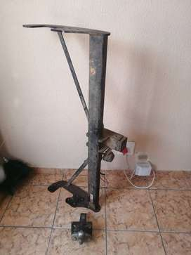 Toyota hilux, tow bar