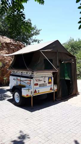 Challenger Nomad Off Road Camping Trailer with Tentco Trailer Tent
