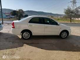 Toyota atios in a very good condition it has been pre used