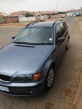 BMW 318i station wagon. Offer negotiable.