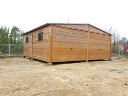 6x5.8 Garaż blaszany Drewnopodobny Garaże blaszane Profil