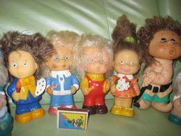 коллекция резиновых игрушек СССР + винил. пластинки