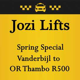 Jozi Lifts - Spring special
