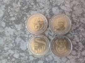 Nelson Mandela R5 Coins for Sale